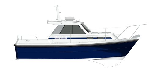 Pilot House 25 Profile